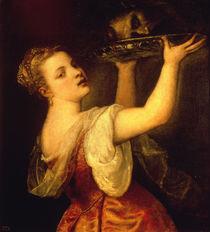 Tizian, Salome mit erhobener Schale by AKG  Images