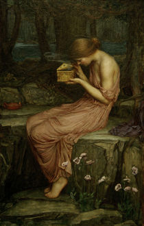 Waterhouse/Psyche Opening the Golden Box by AKG  Images