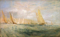 W.Turner, Cowes, Die Regatta kreuzt... by AKG  Images