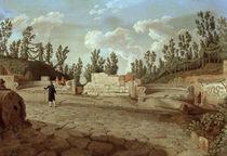 Pompeji, Graeberstrasse / Hackert von AKG  Images