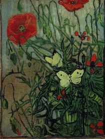 van Gogh, Schmetterlinge auf Mohnblueten by AKG  Images