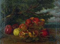 G.Courbet, Aepfel, Granataepfel, Birnen von AKG  Images