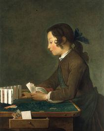 J.B.S.Chardin, Das Kartenhaus von AKG  Images
