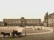 Dresden, Gemaeldegalerie /  Photochrom by AKG  Images