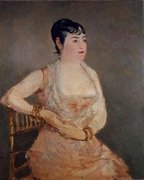 Manet/ La Dame rose (Mme Martin)/ 1881 von AKG  Images