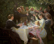Kuenstlerfest bei M.u.A.Ancher/P.S.Kroeyer von AKG  Images