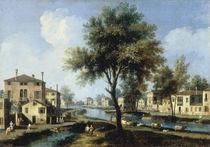 Brenta, Ansicht / Gem.v.Canaletto by AKG  Images