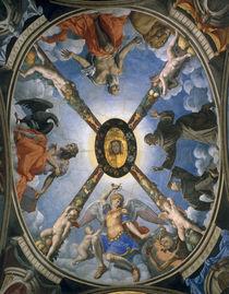 A.Bronzino, Dreifaltigkeit mit Heiligen by AKG  Images
