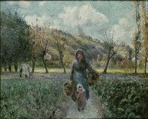 Pissarro/ Der Garten in Eragny von AKG  Images