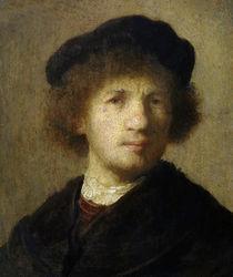 Rembrandt, Selbstbildnis um 1630 von AKG  Images