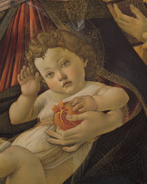 S.Botticelli, Jesusknabe mit Granatapfel von AKG  Images