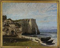 G.Courbet, Steilkueste Etretat von AKG  Images