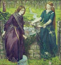 Dante, Goettl. Komoedie / D.G.Rossetti von AKG  Images