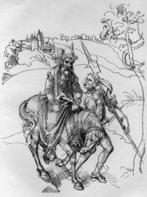A.Duerer, Der blinde Reiter von AKG  Images