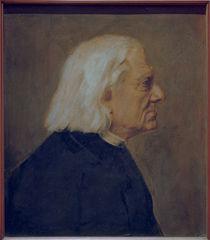 Franz Liszt / Gemaelde von Lenbach by AKG  Images