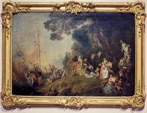 Antoine Watteau, Kythera, Charlottenburg von AKG  Images
