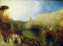 W.Turner, Der Aufbruch der Flotte by AKG  Images