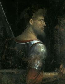 Giorgione, Krieger mit altem Mann by AKG  Images