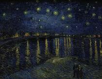 van Gogh, Sternennacht ueber der Rhone by AKG  Images