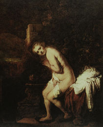 Rembrandt, Susanna im Bade / Den Haag by AKG  Images