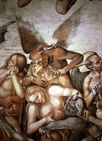 Luca Signorelli, Ende der Menschheit von AKG  Images