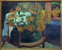 P.Gauguin, Sonnenblumen auf Armstuhl von AKG  Images