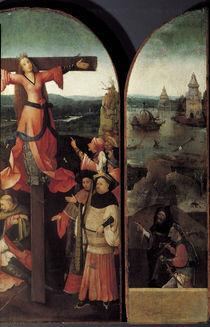 H.Bosch, Altar der Hl.Julia, Teilansicht by AKG  Images