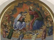 Botticelli, Kroenung Mariae von AKG  Images