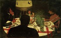 F.Vallotton, Bei Tisch, Lichtwirkung von AKG  Images