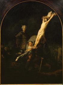 Rembrandt, Die Kreuzaufrichtung von AKG  Images
