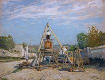 A.Sisley, Die Holzsaeger von AKG  Images