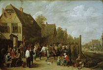 David Teniers d.J., Dorffest by AKG  Images
