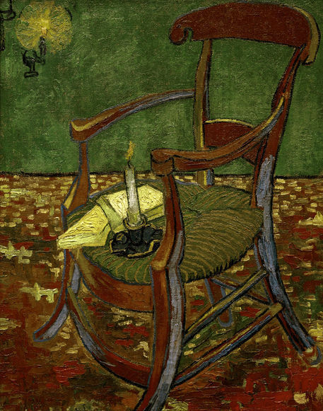 """""""Van Gogh Gauguins Stuhl"""" Bild Als Poster Und Kunstdruck"""