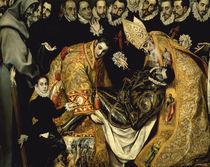 El Greco, Begraebnis des Conde de Orgaz von AKG  Images