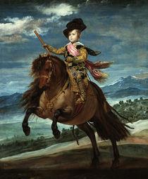 Baltasar Carlos zu Pferde / Velazquez von AKG  Images