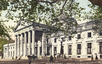 Wiesbaden, Neues Kurhaus / Foto um 1910 by AKG  Images