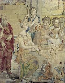 Gastmahl des Pharao / Bildteppich 1549 by AKG  Images