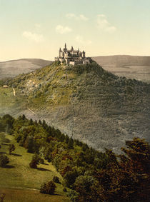 Burg Hohenzollern / Photochrom by AKG  Images