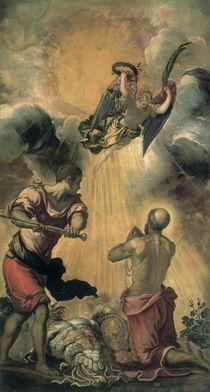 Tintoretto, Enthauptung des Paulus by AKG  Images