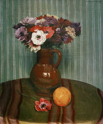 F.Vallotton, Stillleben mit Anemonen... by AKG  Images