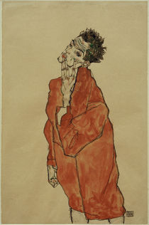 Egon Schiele, Selbstbildnis by AKG  Images