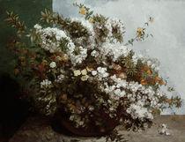 Gustave Courbet, Blumenstilleben/ 1855 by AKG  Images