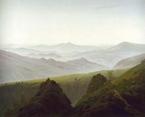 C.D.Friedrich, Der Morgen im Gebirge1822 by AKG  Images