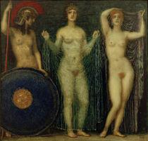 F.v.Stuck, Athena, Hera und Aphrodite von AKG  Images