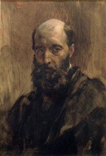 Gustave Ricard, Aquarell von A. Menzel von AKG  Images