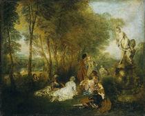 Watteau, Das Liebesfest von AKG  Images