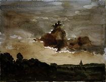 Ch. F.Daubigny, Sonnenuntergang von AKG  Images