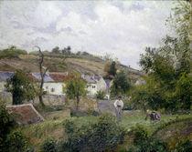 Pissarro/ Dorf bei Pontoise / 1873 von AKG  Images