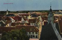 Germersheim, Stadtansicht / Postkarte von AKG  Images