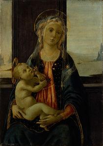 Botticelli, Maria mit Kind (del mare) von AKG  Images